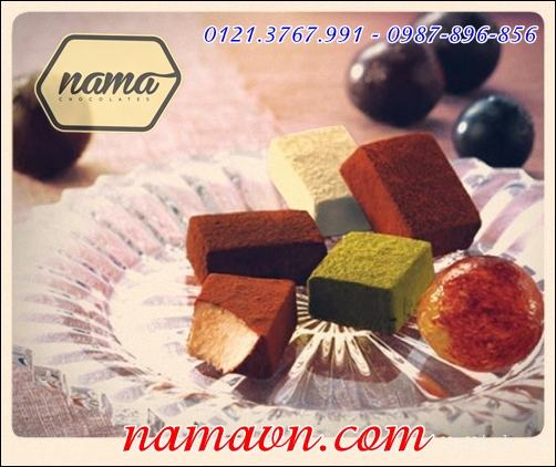 Nama Chocolate 5 vị Mix 5S