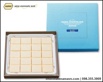 Nama Chocolate Mild White vị sữa tươi Nhật bản