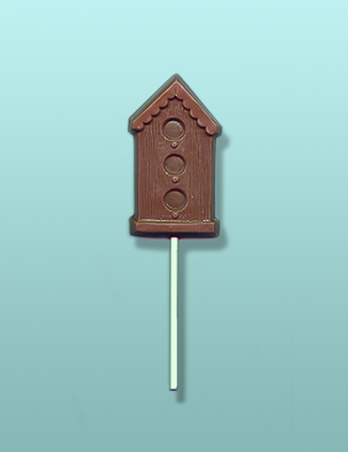Chocolate Birdhouse Party Favor I