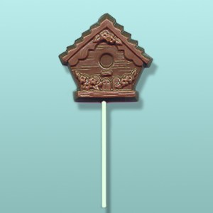 Chocolate Birdhouse Party Favor II