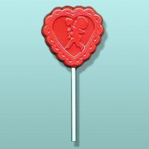 Cupid Heart Lolly Favor