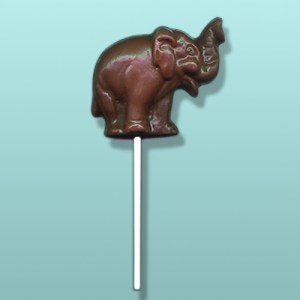 Chocolate Trumpeter Elephant Party Favor