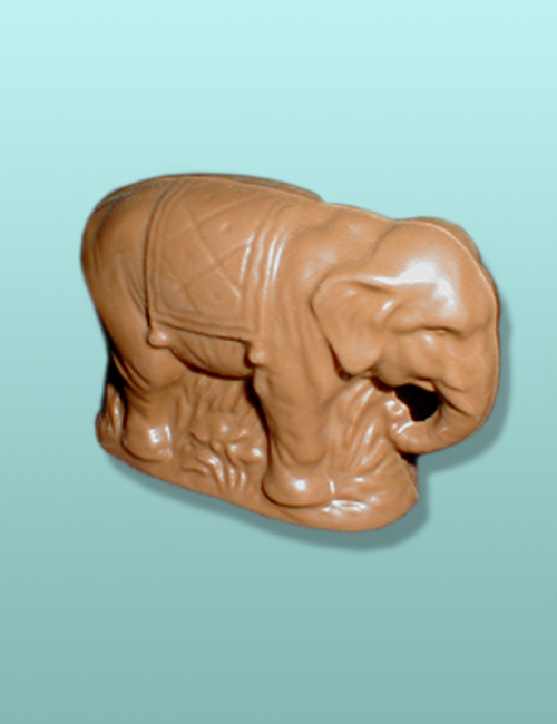 3D Chocolate Circus Elephant