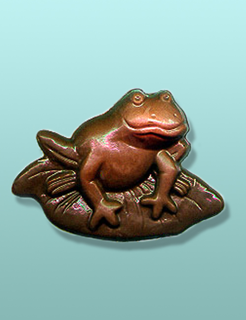 Chocolate Frog Lily Pad Favor
