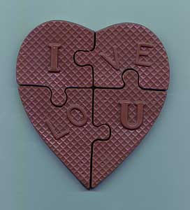 I Love You Heart Puzzle