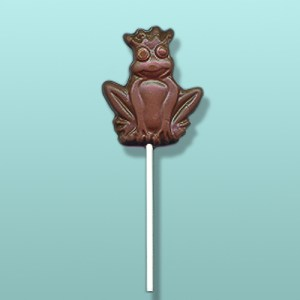 Chocolate King Frog Party Favor