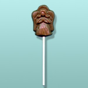 Chocolate Praying Angel Lolly