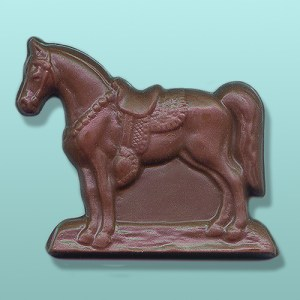 Chocolate Saddle Horse Favor