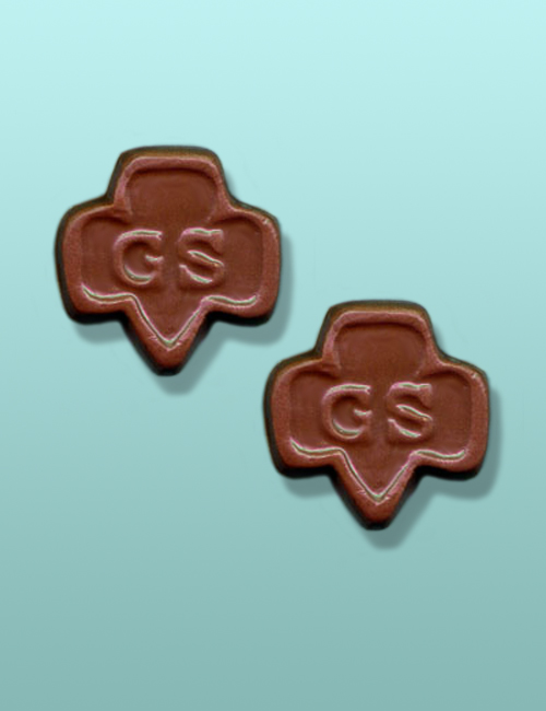 2 pc. Chocolate Girl Scout Favor