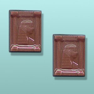 2 pc. Chocolate Cleopatra Mini Favor