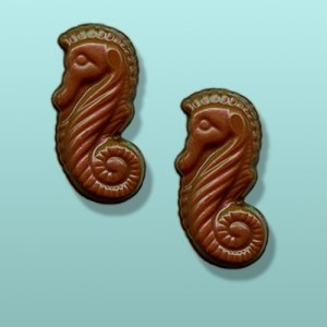 2 pc. Chocolate Sea Horse Favor I
