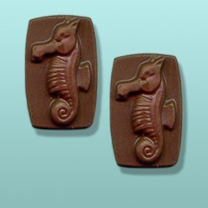 2 pc. Chocolate Sea Horse Favor II
