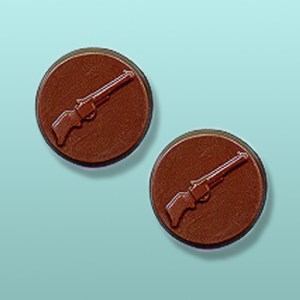 Chocolate Rifle Round Favor