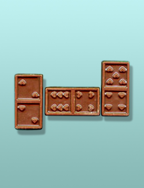 2 pc. Chocolate Domino Party Favor