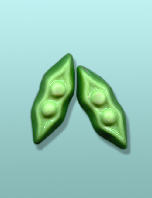 2 pc. Chocolate Pea Pods Mini Favor