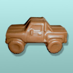 3D Chocolate 4 x 4 Pickup Truck