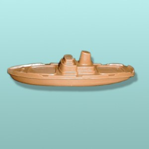 3D Chocolate Oil Tanker Ship