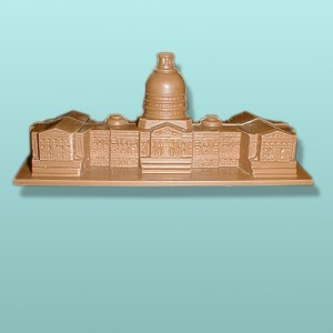 3D Large Chocolate Capitol Building
