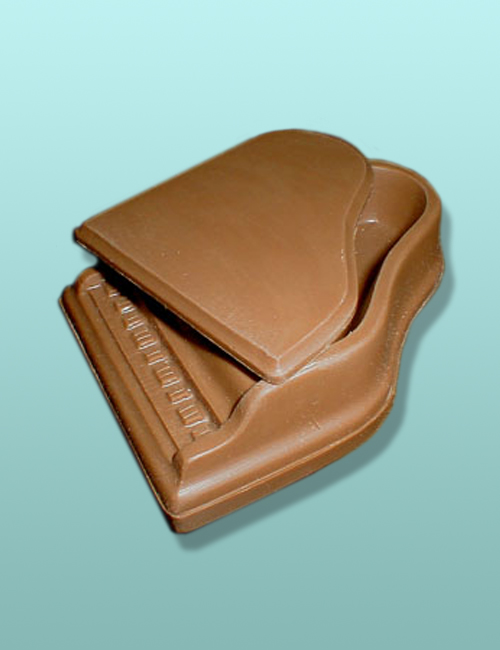 3D Large Chocolate Grand Piano