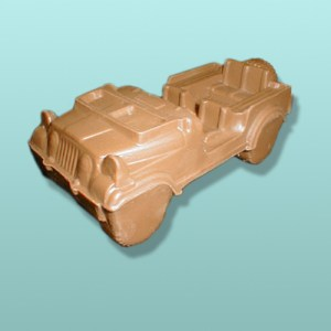 3D Chocolate Military Jeep I