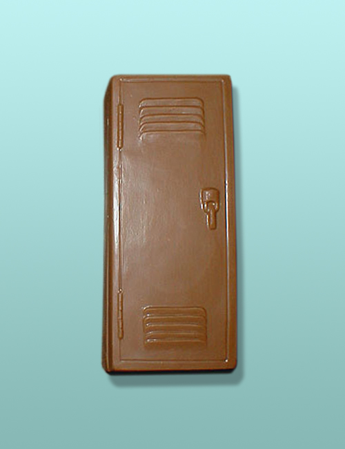 3D Chocolate School Locker & Door