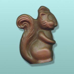 3D Chocolate Chubby Cheek Squirrel