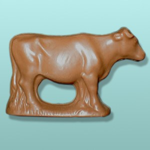 3D Chocolate Farm Cow