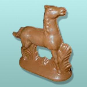 3D Chocolate Prancing Horse