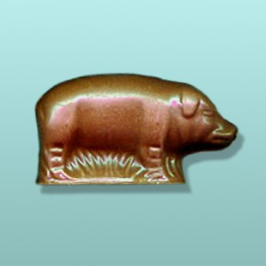 3D Chocolate Pig Mini Favor