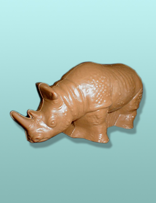 3D Chocolate Rhinoceros