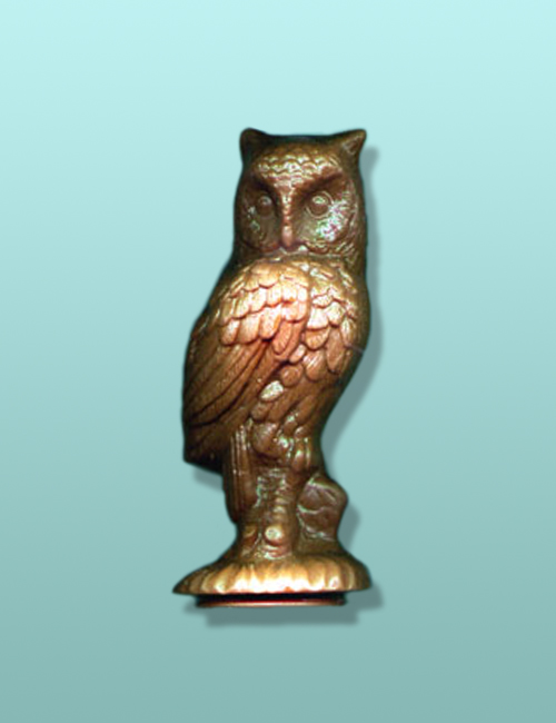 3D Chocolate Tufted Owl