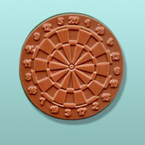 Chocolate Dart Board Small Party Favor