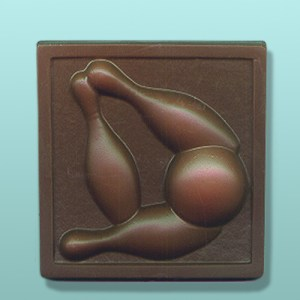 Chocolate Bowling Strike Plaque