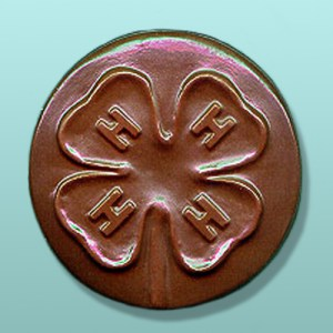 Chocolate 4-H Club Favors