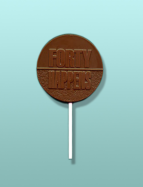 Chocolate Forty Happens Party Favor
