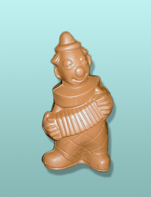 Chocolate Large Musical Clown