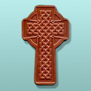 Chocolate Celtic Cross Favor