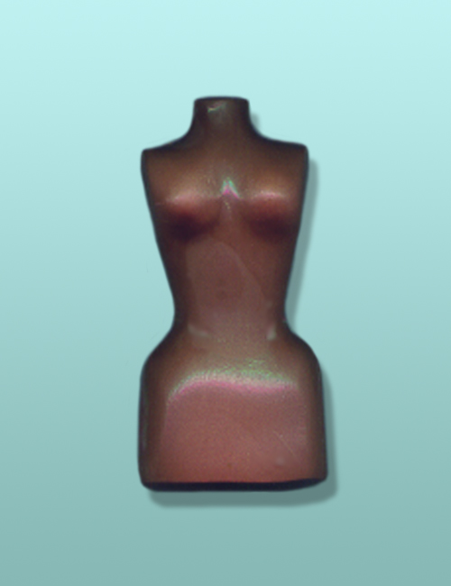 Chocolate Dress Mannequin Favor
