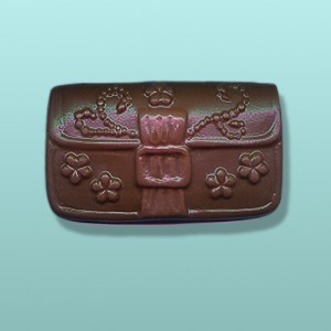 Chocolate Ladies Clutch Purse