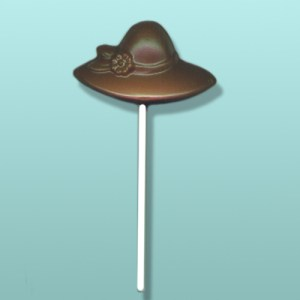 Chocolate Ladies Hat I Lolly