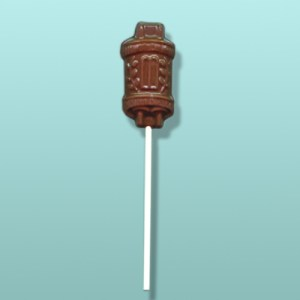 Chocolate Torah Scroll Lolly