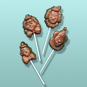 CHOCOLATE CIRCUS CLOWN FAVORS