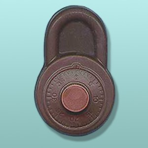 Chocolate Combination Lock Favor