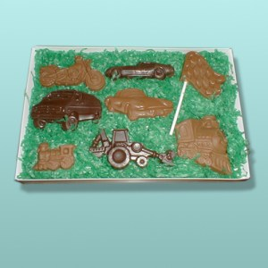 8 pc. Chocolate Vehicle Gift Set