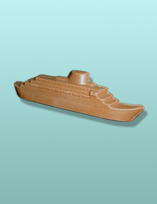 3D Chocolate Cruise Ship Mini Favor