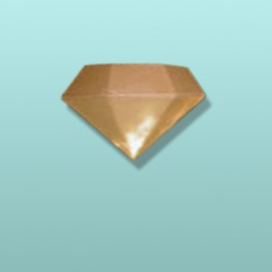 Chocolate 3D Diamond Large