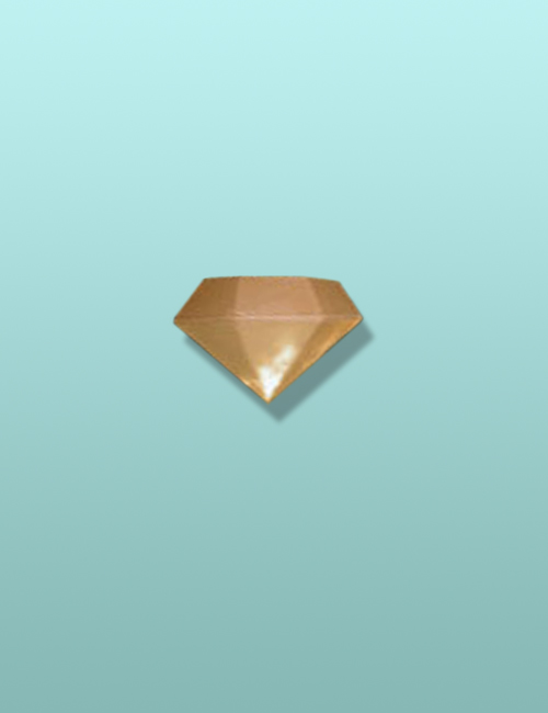 Chocolate 3D Diamond Small Favor