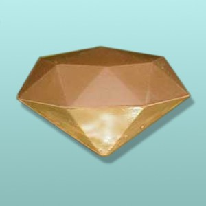 Chocolate 3D Diamond X-Large