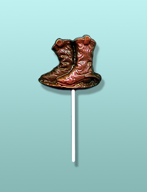 Chocolate Double Boots Lolly