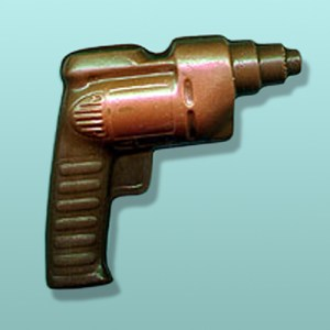 Chocolate Electric Drill Party Favor
